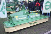 Krone Easi Cut 32 CV mounted mower at lamma 2010 - IMG 7594