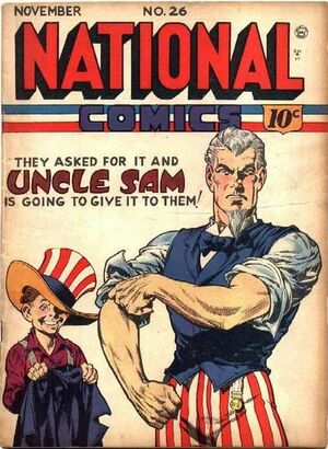 Cover for National Comics #26