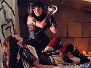 Xena and Livia