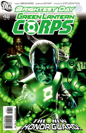 Cover for Green Lantern Corps #48