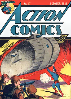 Cover for Action Comics #17