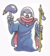 Eggplant Wizard Sticker