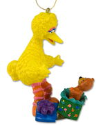 Big bird teddy bear