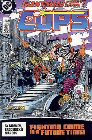 Cover for COPS #1