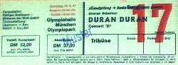 German duran duran ticket a