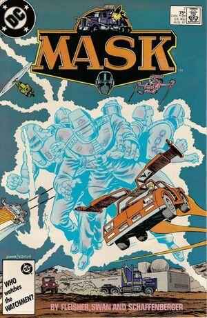 Cover for MASK #7