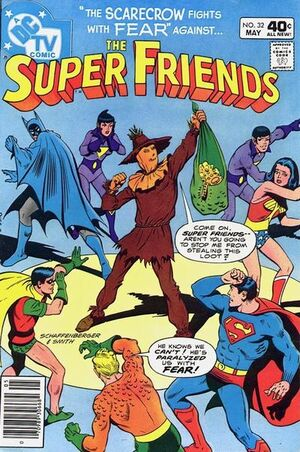 Cover for Super Friends #32
