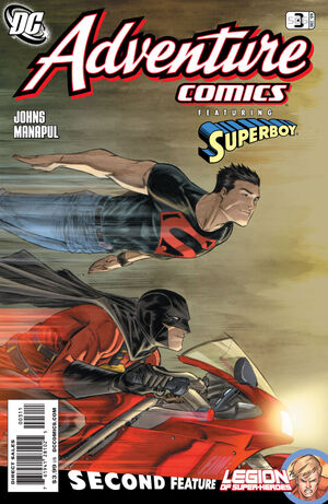 Cover for Adventure Comics #3