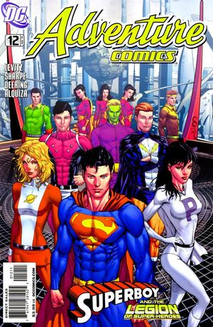 Cover for Adventure Comics #12