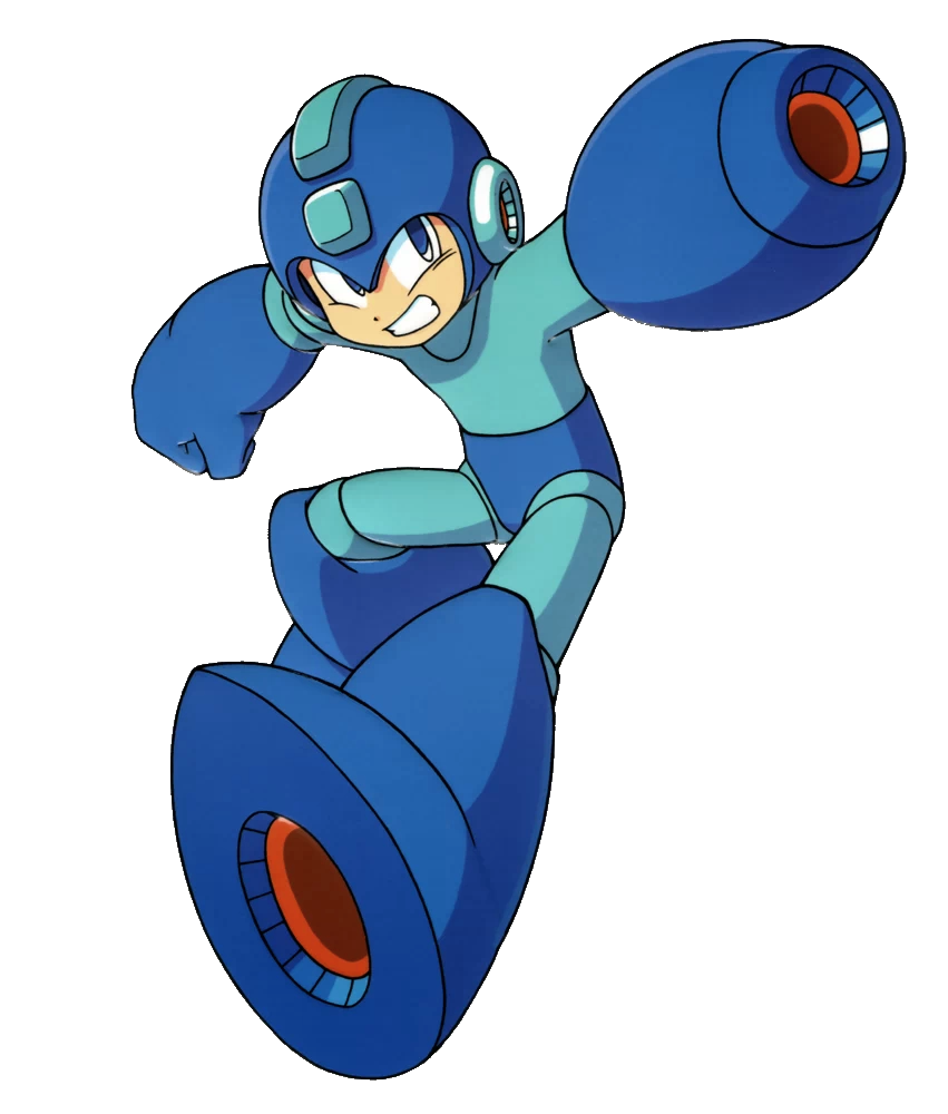 mega man cover shot