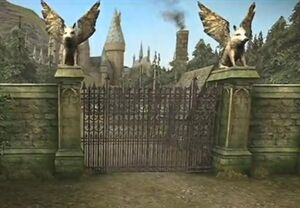 Entrance gates HBP