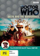 Delta and the Bannermen DVD Australian cover