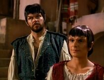 Riker and Troi as Mintakans