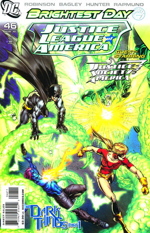 Cover for Justice League of America #46