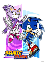 Rush Sonic&amp;Blaze poster