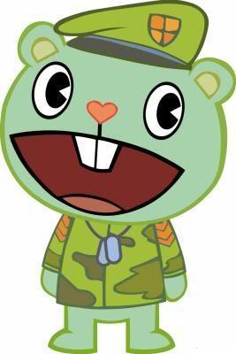 Flippy - Happy Tree Friends Wiki - Mondo Mini Shows, Cartoon