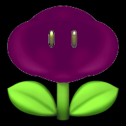 Dark cloud flower