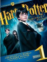 Sorcerer&#39;s Stone DVD Ultimate Edition Cover