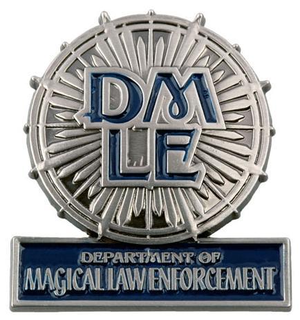 Força da Lei e Ordem - DMLE Department_of_Magical_Law_Enforcement