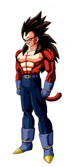 ベジータ | Bejīta | Vegeta Super Saiyan 4 Mugen Character Download