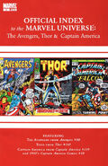Avengers, Thor &amp; Captain America Official Index to the Marvel Universe Vol 1 3