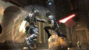 Starkiller vs. Boba Fett
