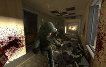 Некоторые из комнат отеля на первом уровне кампании Dead Center являются капиллярами.  Это отличное места для...