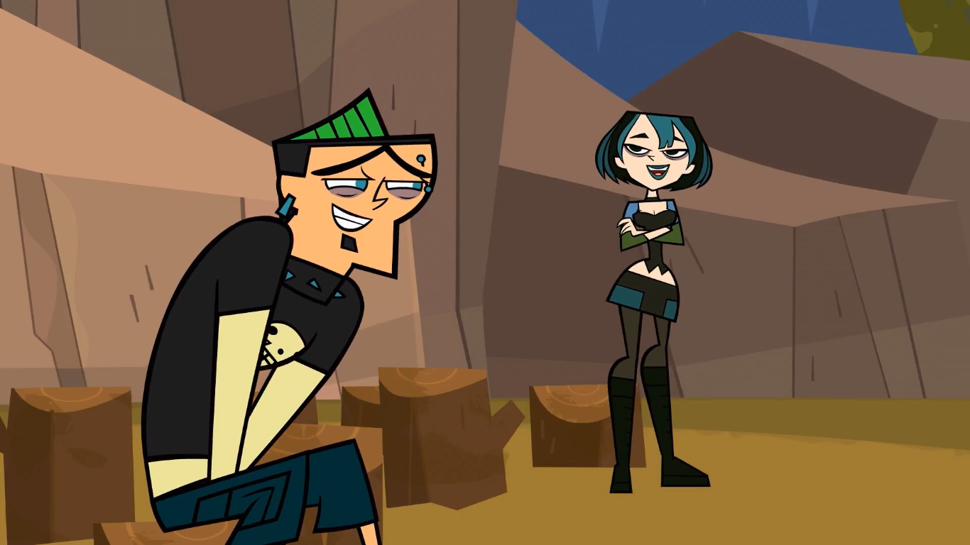 Opinion Total drama island gwen message, matchless)))