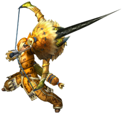liste des armes de monster hunter tri 250px-MHP3rd_Bow