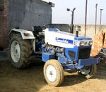 Sonalika International 750 (blue&amp;white)