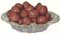 Fig nut chocolates
