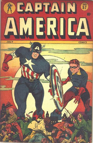 Captain America Comics Vol 1 57