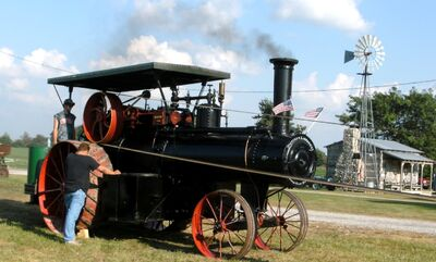 Nichols & Shepard steam engine