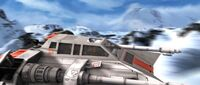 Rendar Snowspeeder