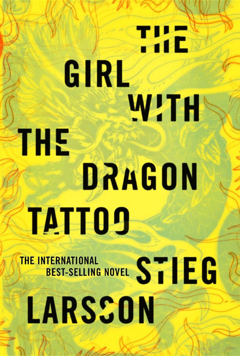 The girl with the dragon tattoo novel millenium for The girl with the dragon tattoo books