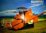 Swaraj Harvester w tracks-2010