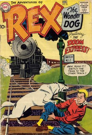 Cover for Adventures of Rex the Wonder Dog #43