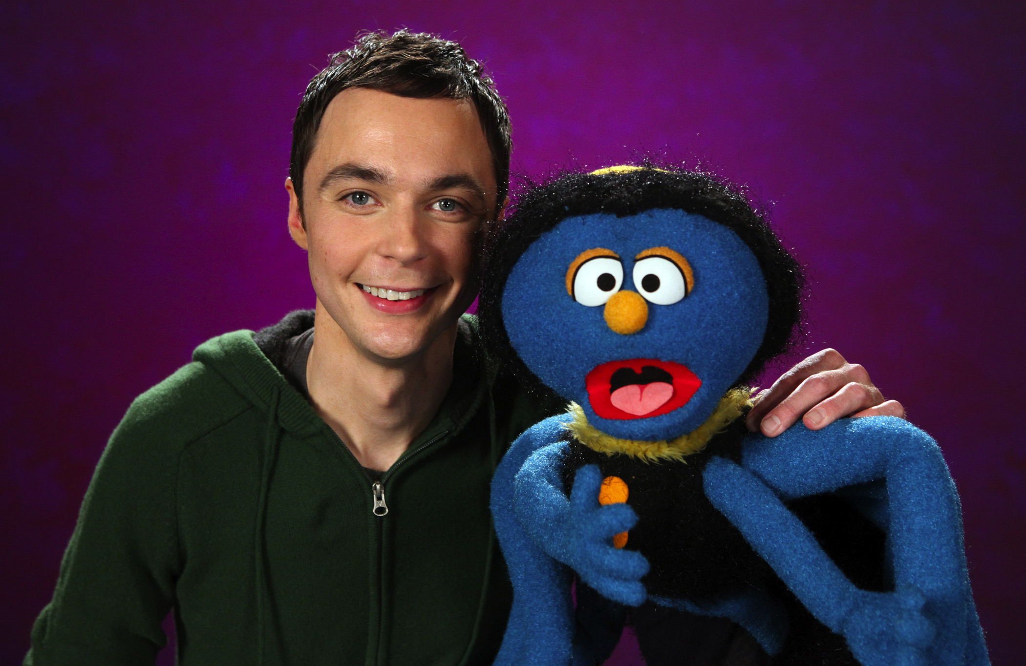 Jim Parsons on Sesame Street