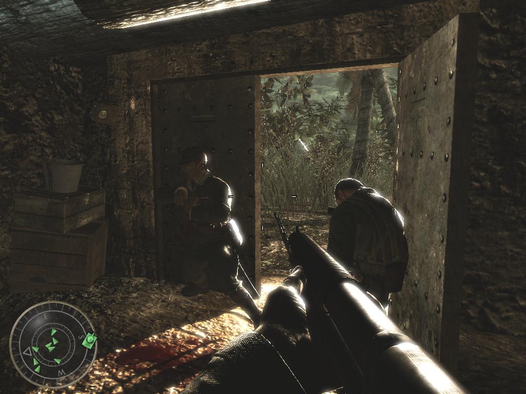 Появляется в. Call of Duty World at War.