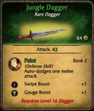 Jungle dagger