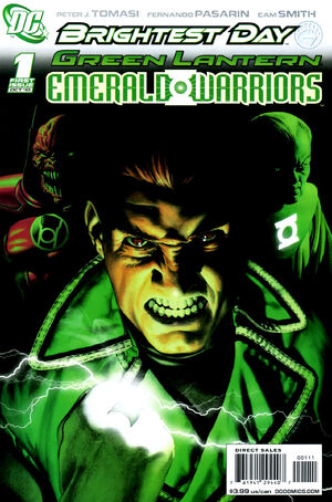 Cover for Green Lantern: Emerald Warriors #1