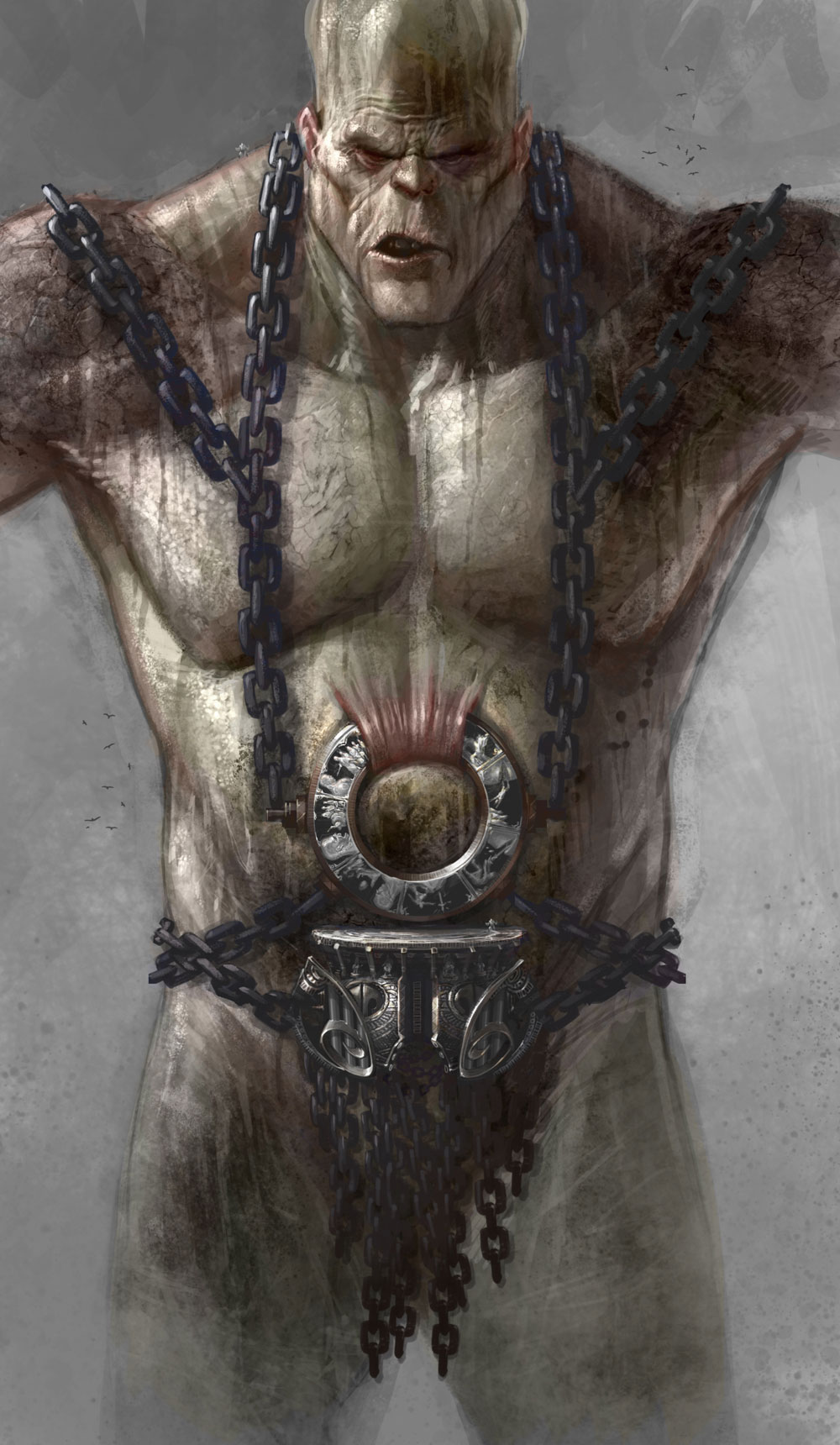 Image - Cronos chains.jpg - God of War Wiki - Ascension ...