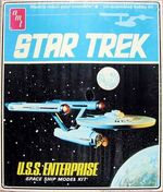 AMT Model kit S951 USS Enterprise 1975