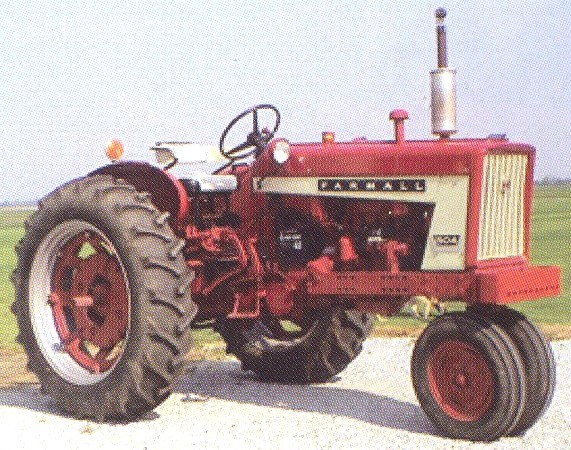 International 504 Tractor : Image farmall dual g tractor construction