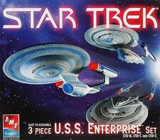 AMT Model kit 38388 3-piece movie Enterprise set 2005