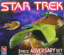 AMT Model kit 38390 3-piece adversary set 2005