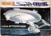 AMT-Matchbox Model kit PK5110 USS Enterprise 1979
