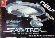 AMT Model kit S970 USS Enterprise 1979