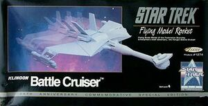 Estes 1274 Klingon Battle Cruiser 1991