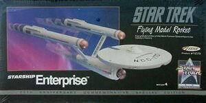 Estes 1275 USS Enterprise 1991